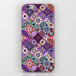 Moroccan bazaar | purple iPhone Skin