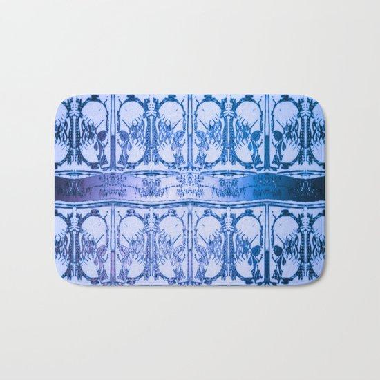 Ice Sword Skulls Bath Mat