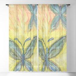 Papillons Sheer Curtain