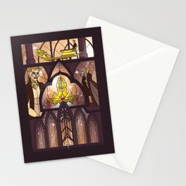 Balem Abrasax - I create life Stationery Cards