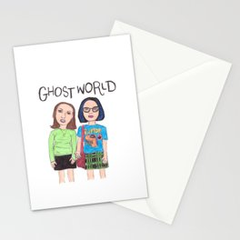 Ghost World Enid and Rebecca Stationery Cards