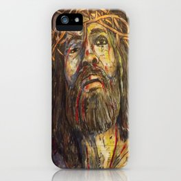 The Crucifixion iPhone Case