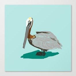 Mr. Pelican Canvas Print