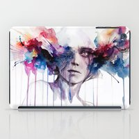 agnes iPad Cases featuring l'assenza by agnes-cecile