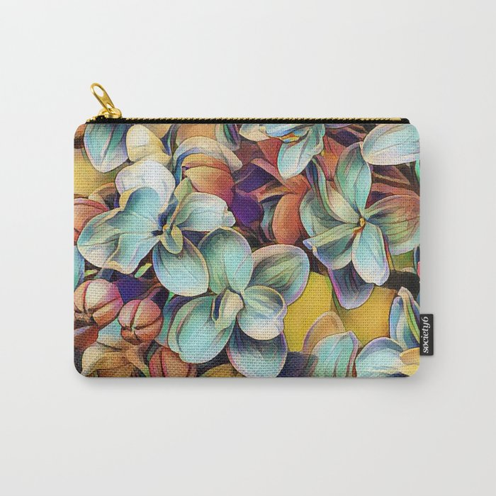 Painted Lilacs Carry-All Pouch