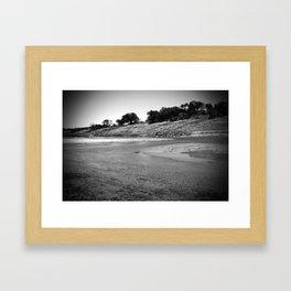 lake travis Framed Art Print