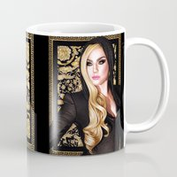 versace Mugs featuring Mother Monster - Versace by Denda Reloaded