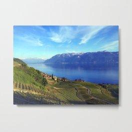 Lake Geneva Landscape  Metal Print