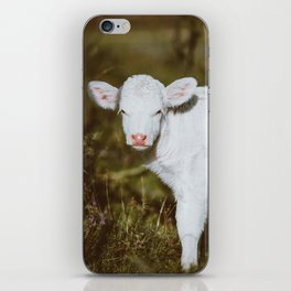 White Calf (Color) iPhone Skin