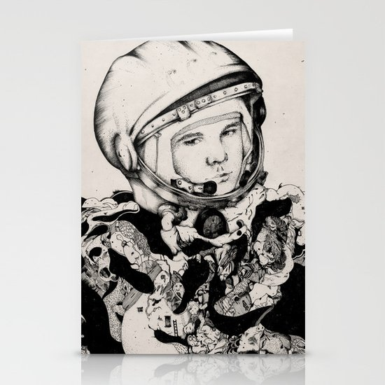 From Gagarin's Point Of View  Stationery Cards