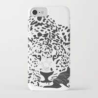 leopard iPhone & iPod Cases featuring Leopard  by Karen Hischak