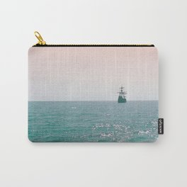 Pirate ship at sea Carry-All Pouch