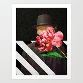 Peeking Art Print