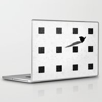 chess Laptop & iPad Skins featuring chess by Helena Georgiou