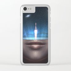 Universal Thoughts Clear iPhone Case