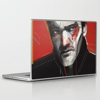 tarantino Laptop & iPad Skins featuring Quentin Tarantino by Zaneta Antosik