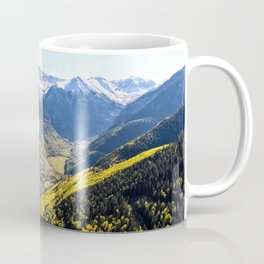 Overlooking Telluride in the Fall Coffee Mug
