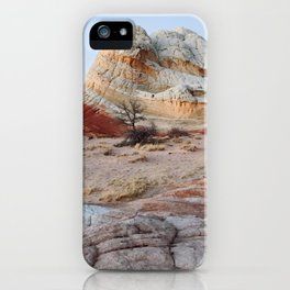 White Pocket Blue Hour iPhone Case