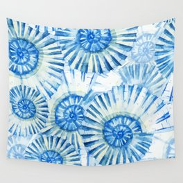 Sea Life Pattern 01 Wall Tapestry