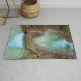 The magic of wild water Rug