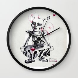 LIFE'S JUST A RIDE Wall Clock