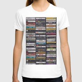 Old 80's & 90's Hip Hop Tapes T-Shirt