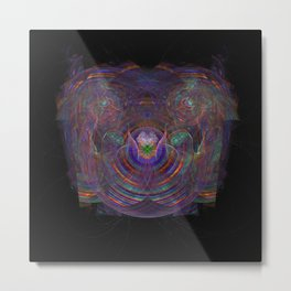 Unfolding your Psyche Metal Print