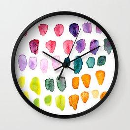 Watercolor Study Wall Clock
