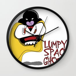 Lumpy Space Ghost Wall Clock