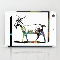 goat iPad Cases featuring Goat by LoRo  Art & Pictures