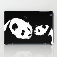 pandas iPad Cases featuring Pandas by Elena Medero