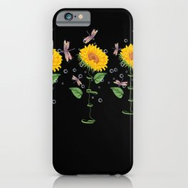 Massachusetts Melrose Sunflower hope love Gifts For Men Women iPhone Case