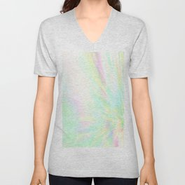 Re-Created Rapture 1 by Robert S. Lee Unisex V-Neck