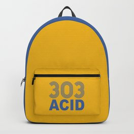 303 Acid Rave Quote Backpack