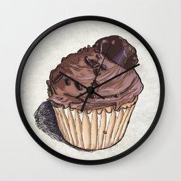 Salted Caramel Cupcake Wall Clock