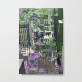 Downtown Houston Metal Print