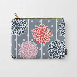 Blossom pattern with dots Carry-All Pouch