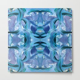 510 - Abstract Garden Design Metal Print