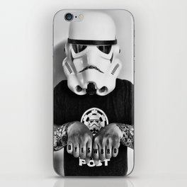 Knuckle Up iPhone Skin
