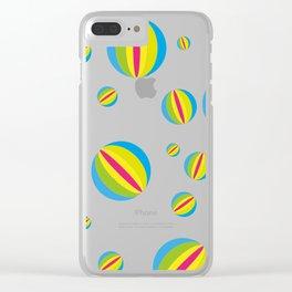 Beach Balls Clear iPhone Case