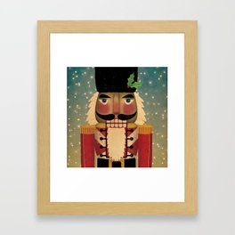Nutcracker Framed Art Print