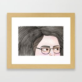 La no Colora Framed Art Print