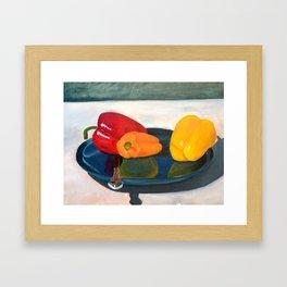 Bell Peppers Framed Art Print
