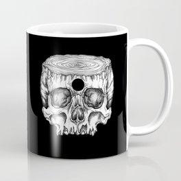 Skull/Wood II Coffee Mug