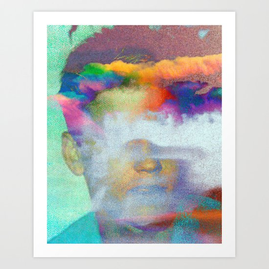 Untitled 20120127c (Corey) Art Print