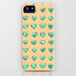 Heart of Stone 02 iPhone Case