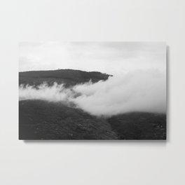 Cortona Clouds Metal Print