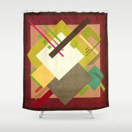 Geometric illustration 47 Shower Curtain