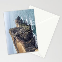 Lighthouse rock ocean Stationery Cards