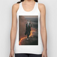 eugenia loli Tank Tops featuring Midlife crisis by Lerson